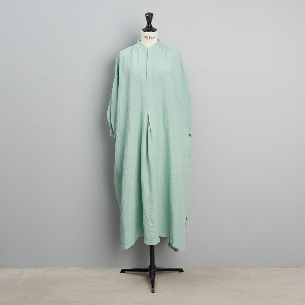 suzuki takayuki <BR>peasant dress<BR>Spray green