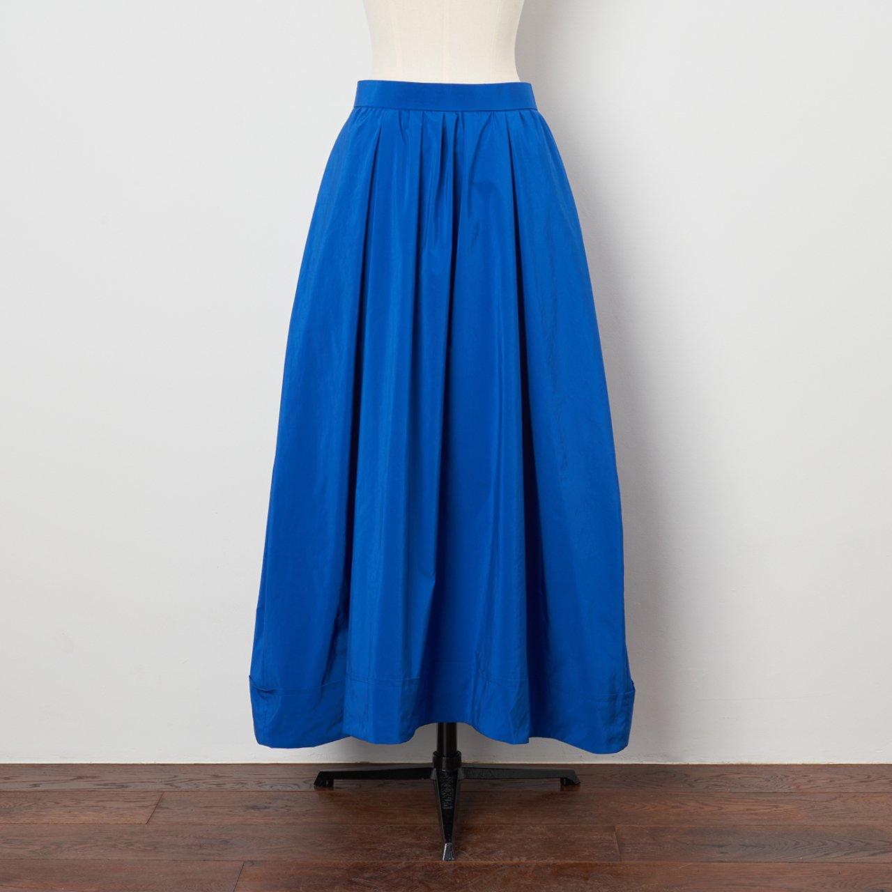 Pale Jute <BR>maxi skirt<BR>blue