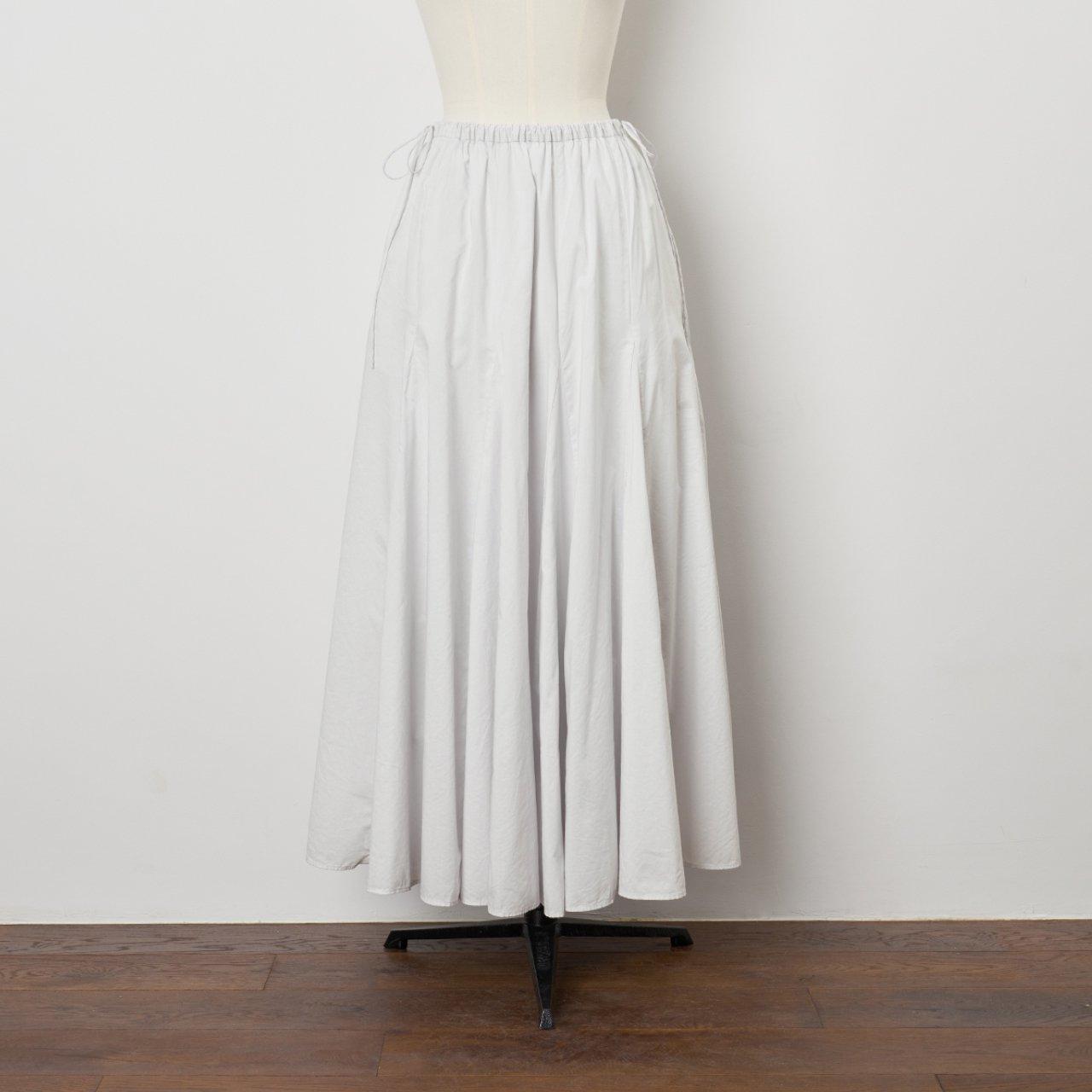 Pale Jute<BR>flare skirt <BR>palejute