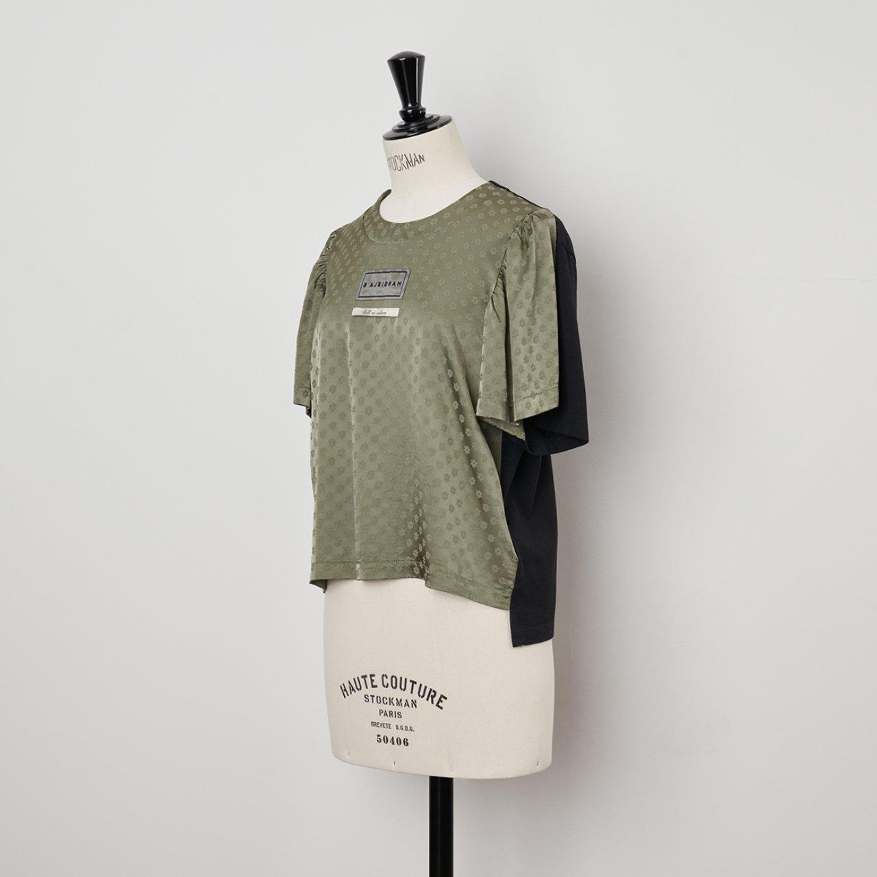 MM6 Maison Margiela PARIS <BR> Tシャツ<BR>Black