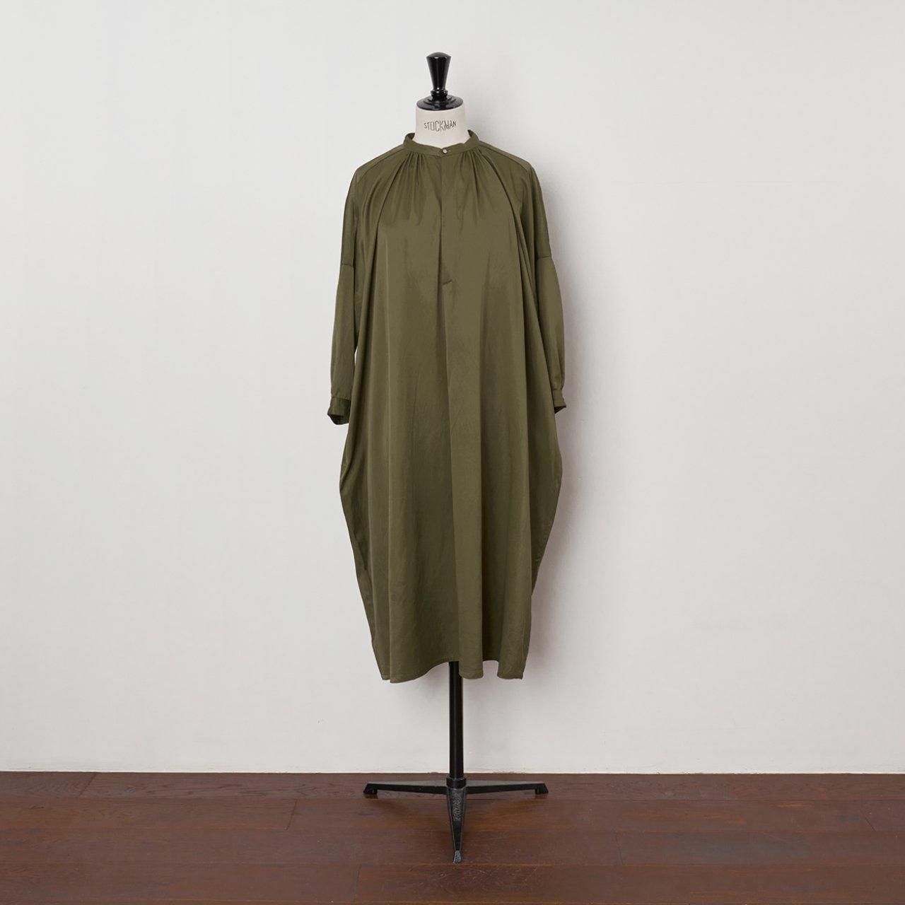 suzuki takayuki<BR>slip-on dress <BR>Khaki