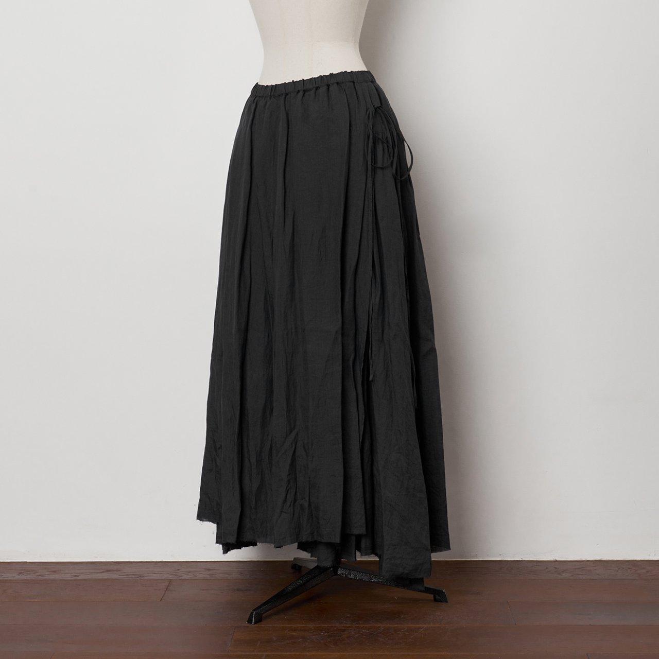 suzuki takayuki<BR>long skirt �<BR>Black
