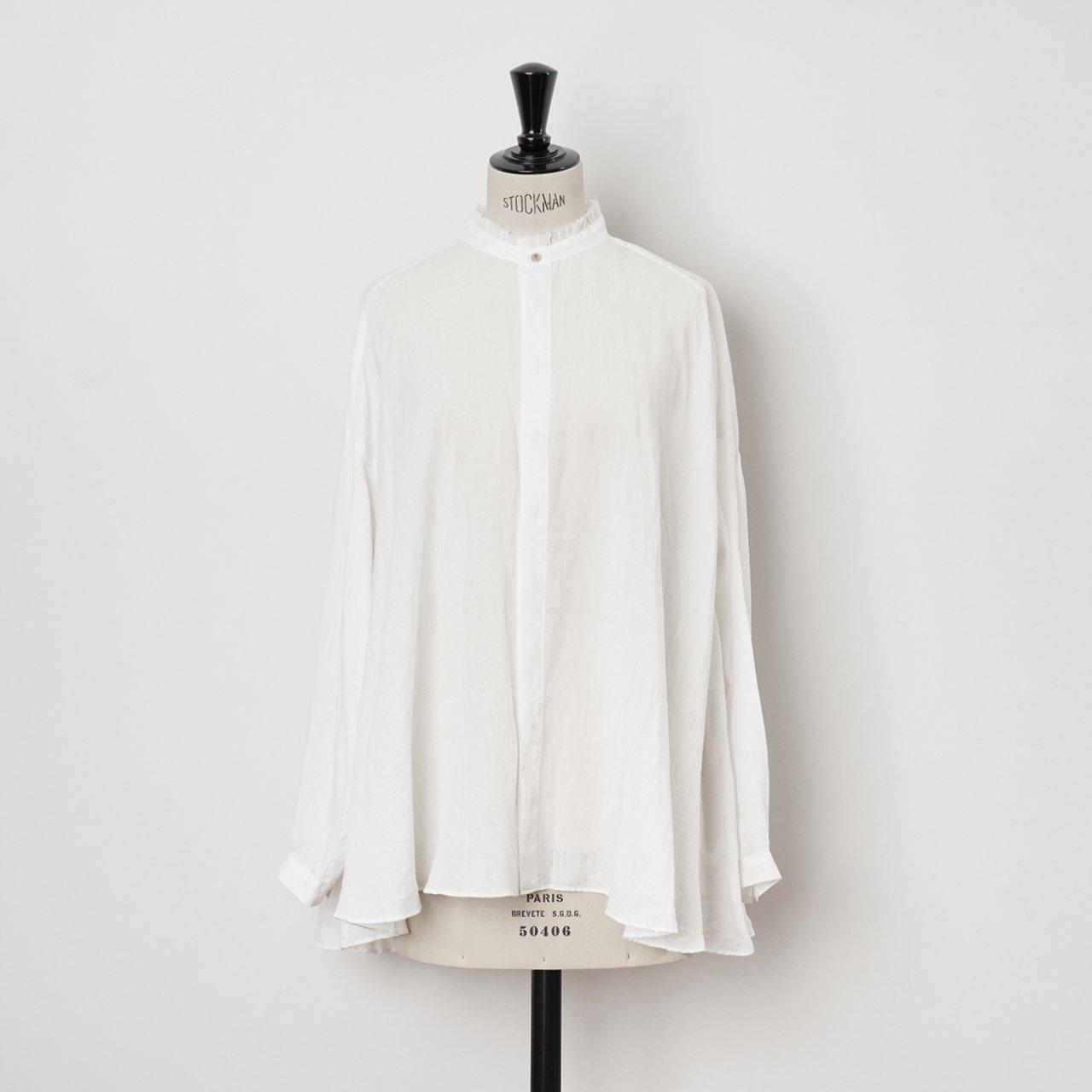 suzuki takayuki<BR>flared  blouse<BR>nude