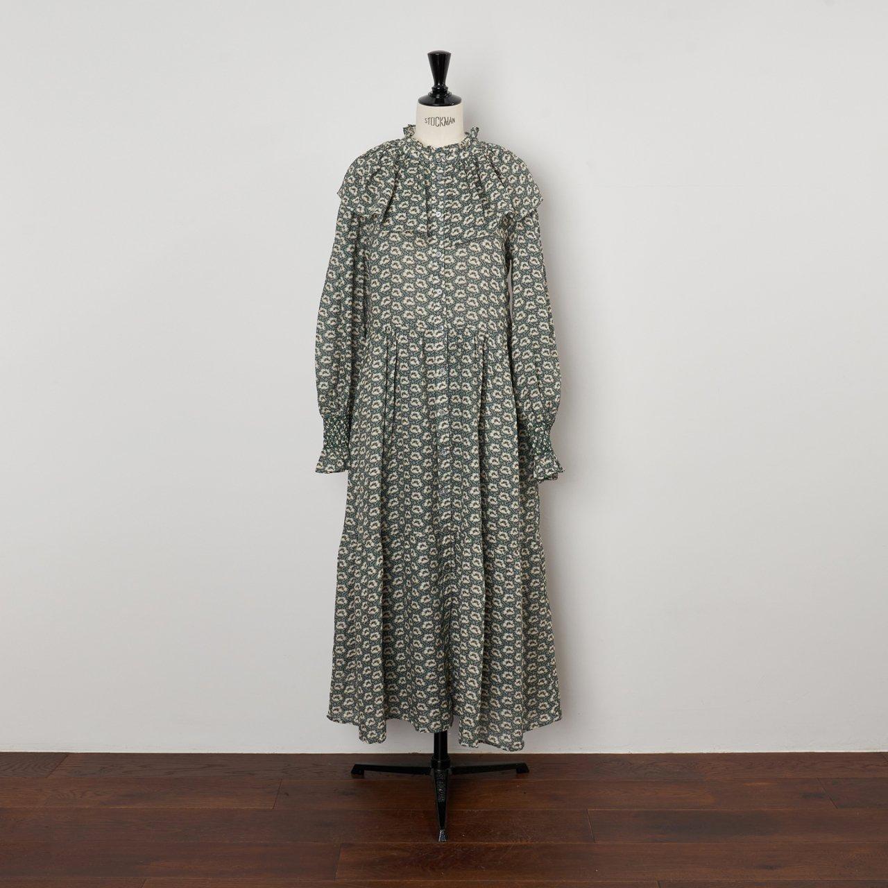 Sea New York<BR>L/S MAXI DRESS<BR>SAGE