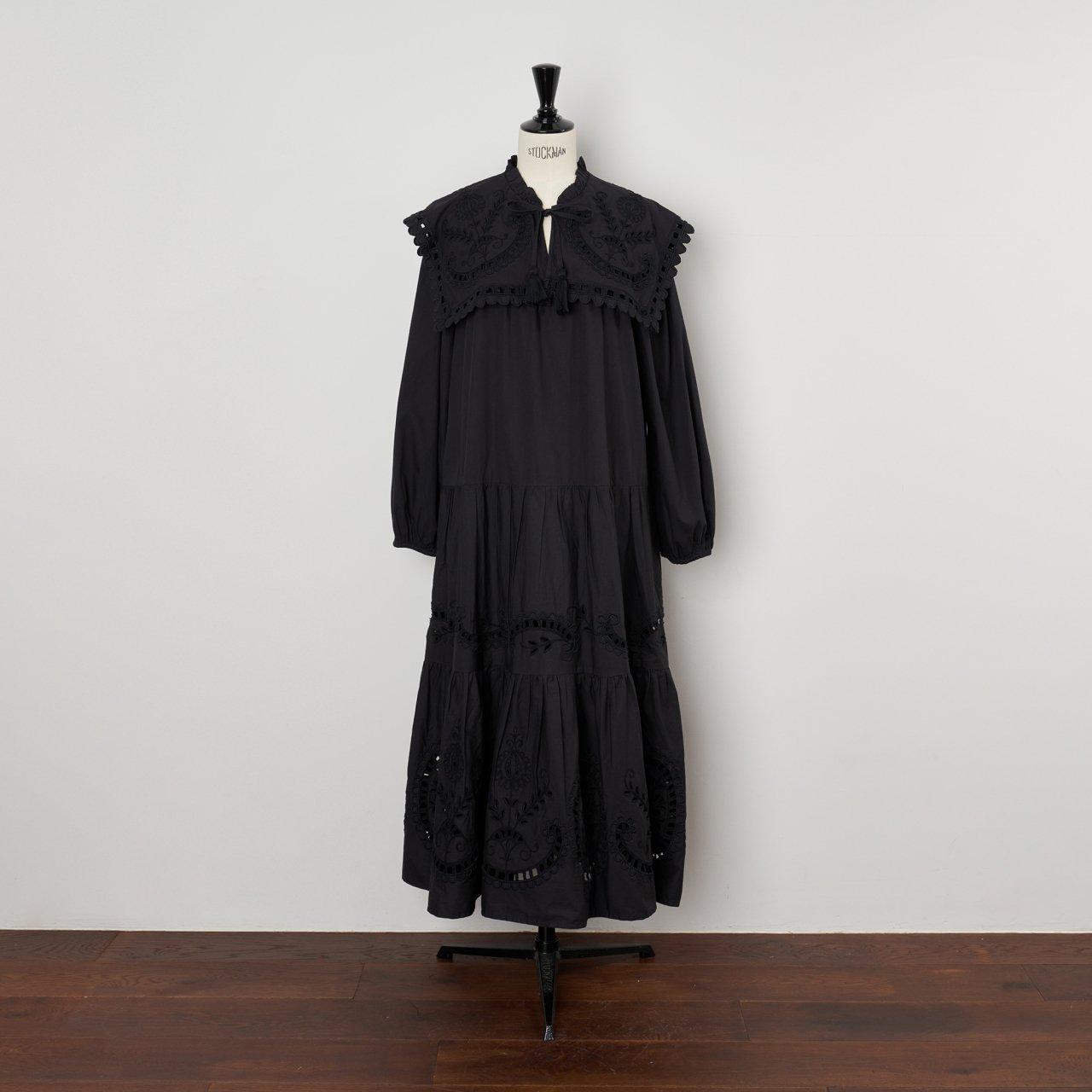 Sea New York<BR> L/S DRESS<BR>BLACK
