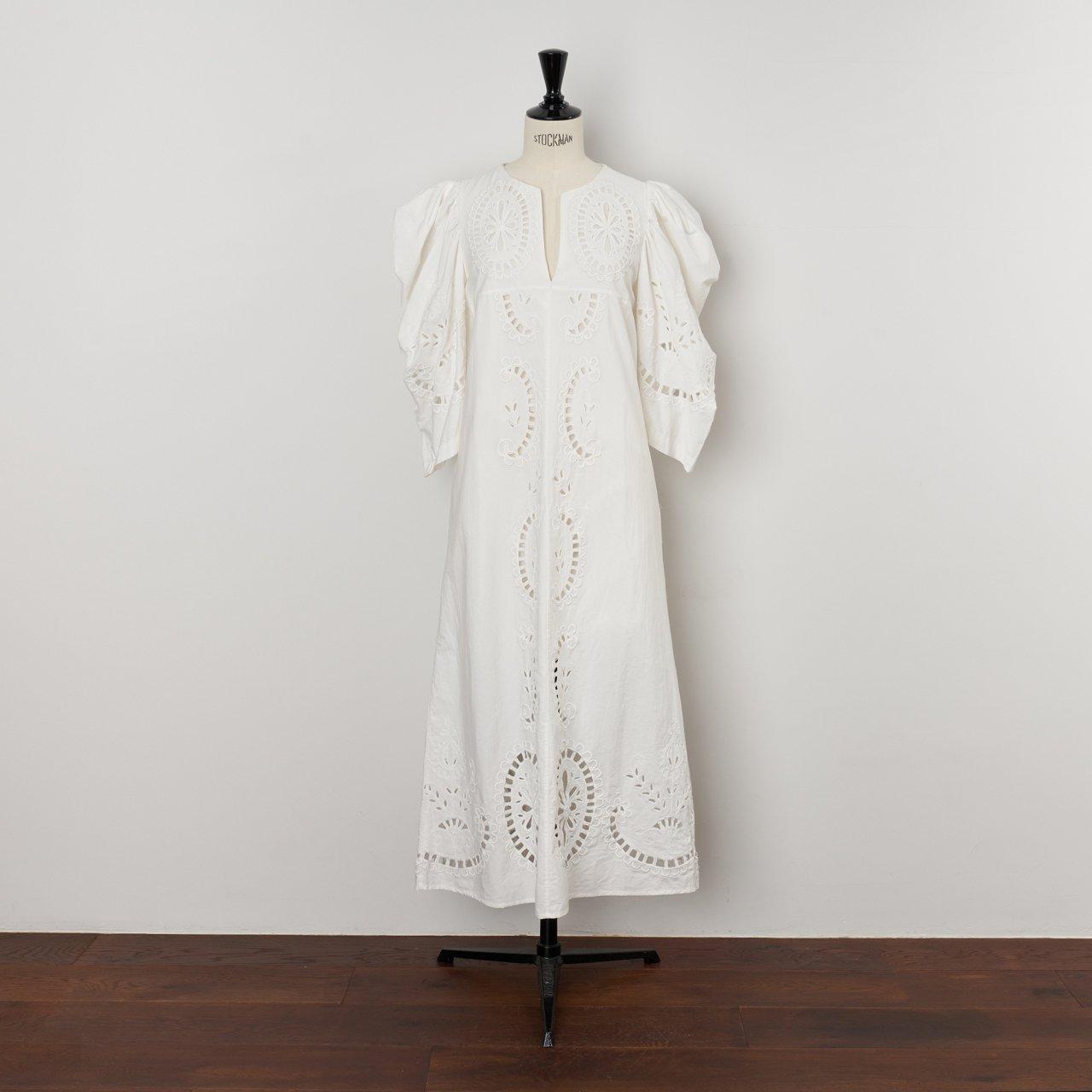 Sea New York<BR>S/S DRESS<BR>WHITE