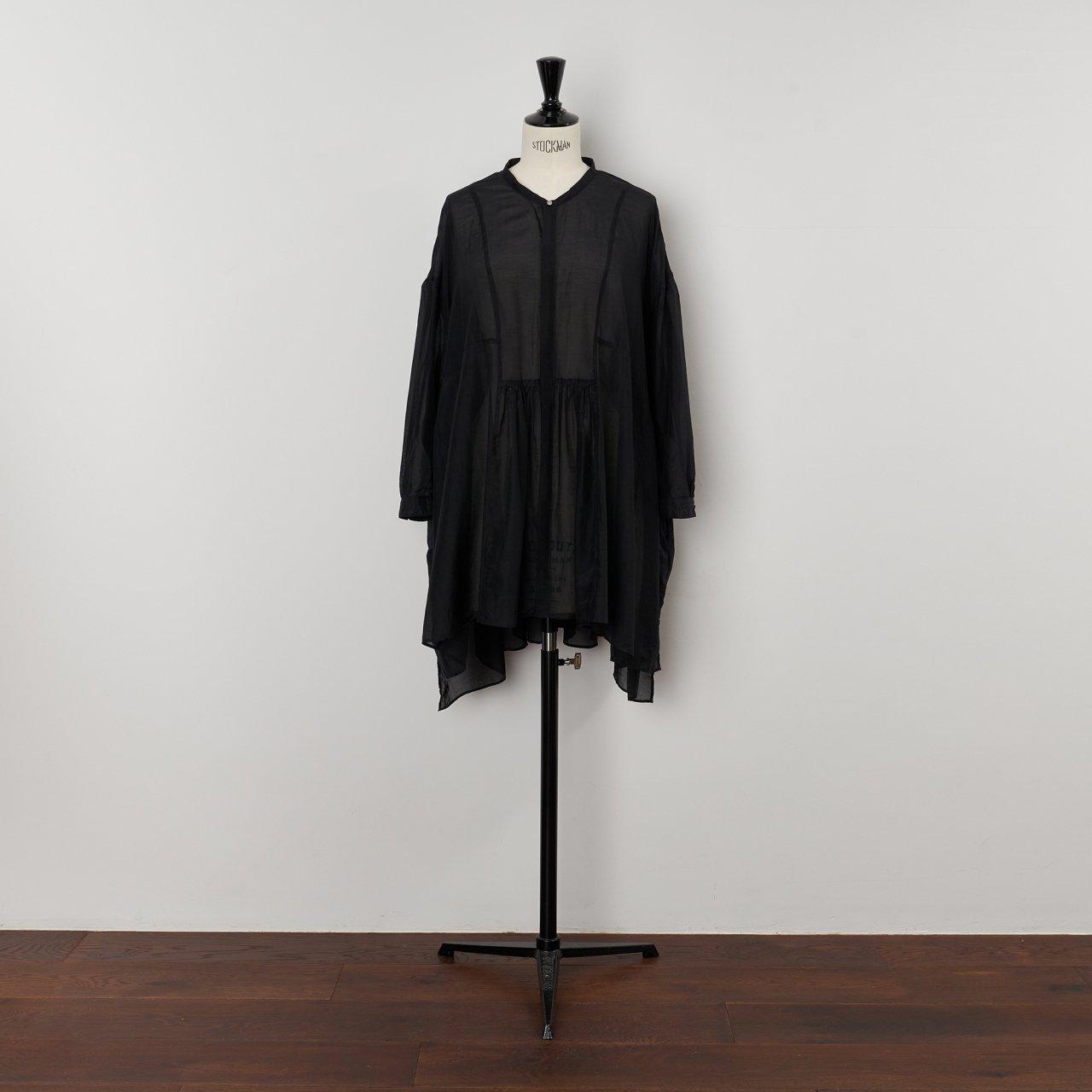 suzuki takayuki<BR>broad blouse<BR>Black