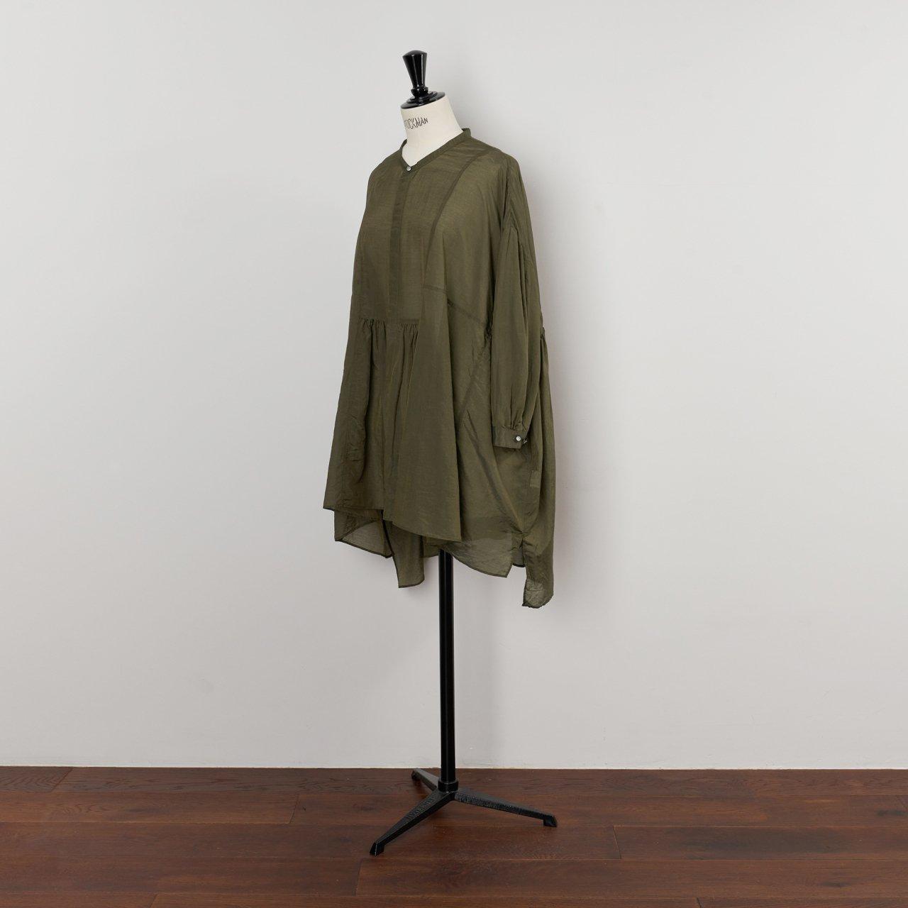 suzuki takayuki<BR>broad blouse<BR>Khaki