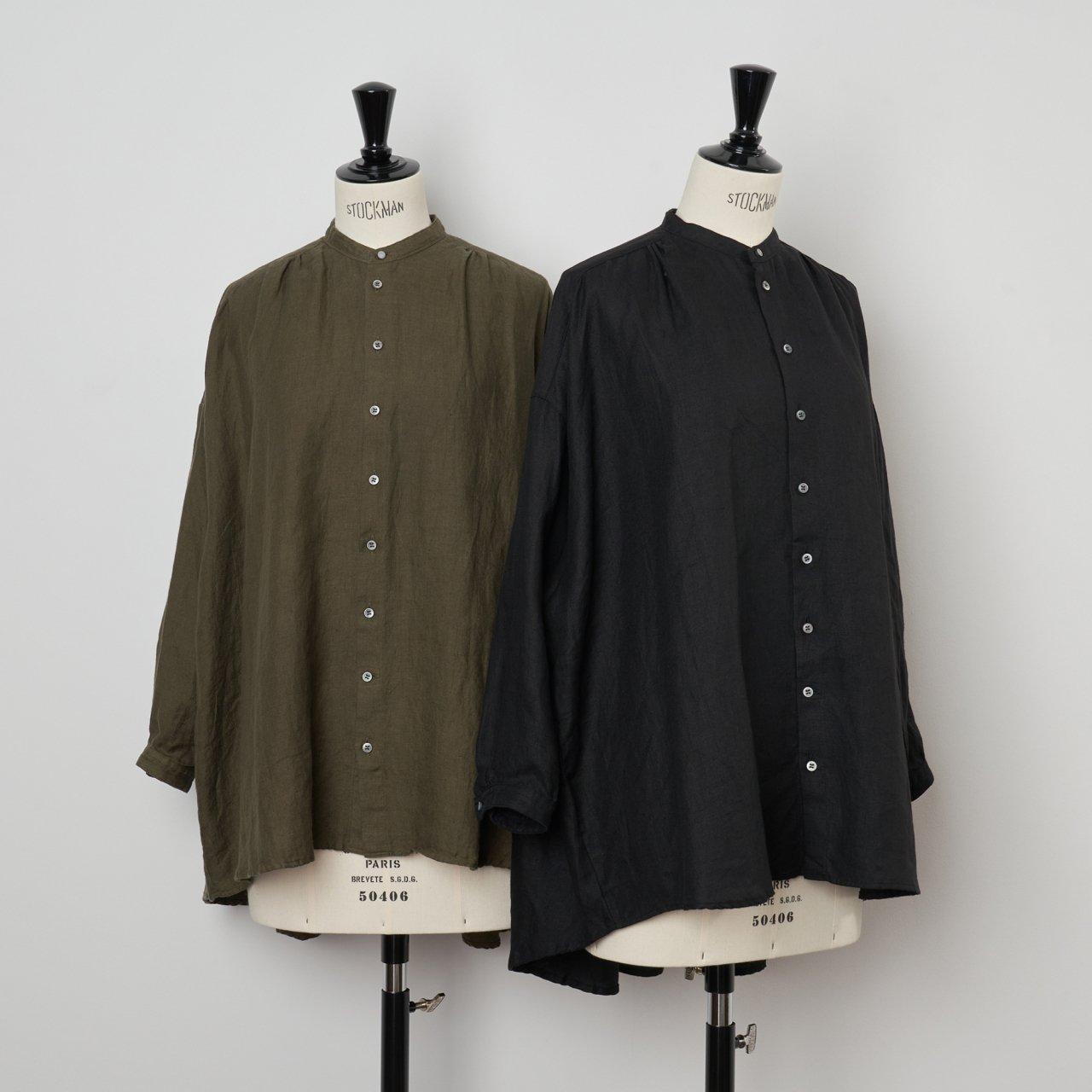 suzuki takayuki<BR>over blouse<BR>khaki ・black