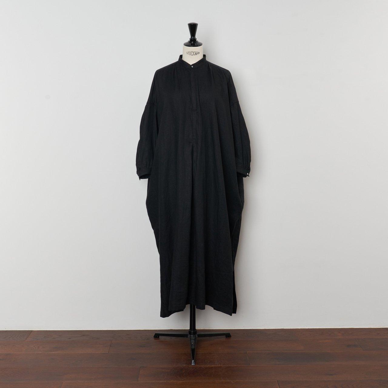 suzuki takayuki<BR>peasant dress<BR>black