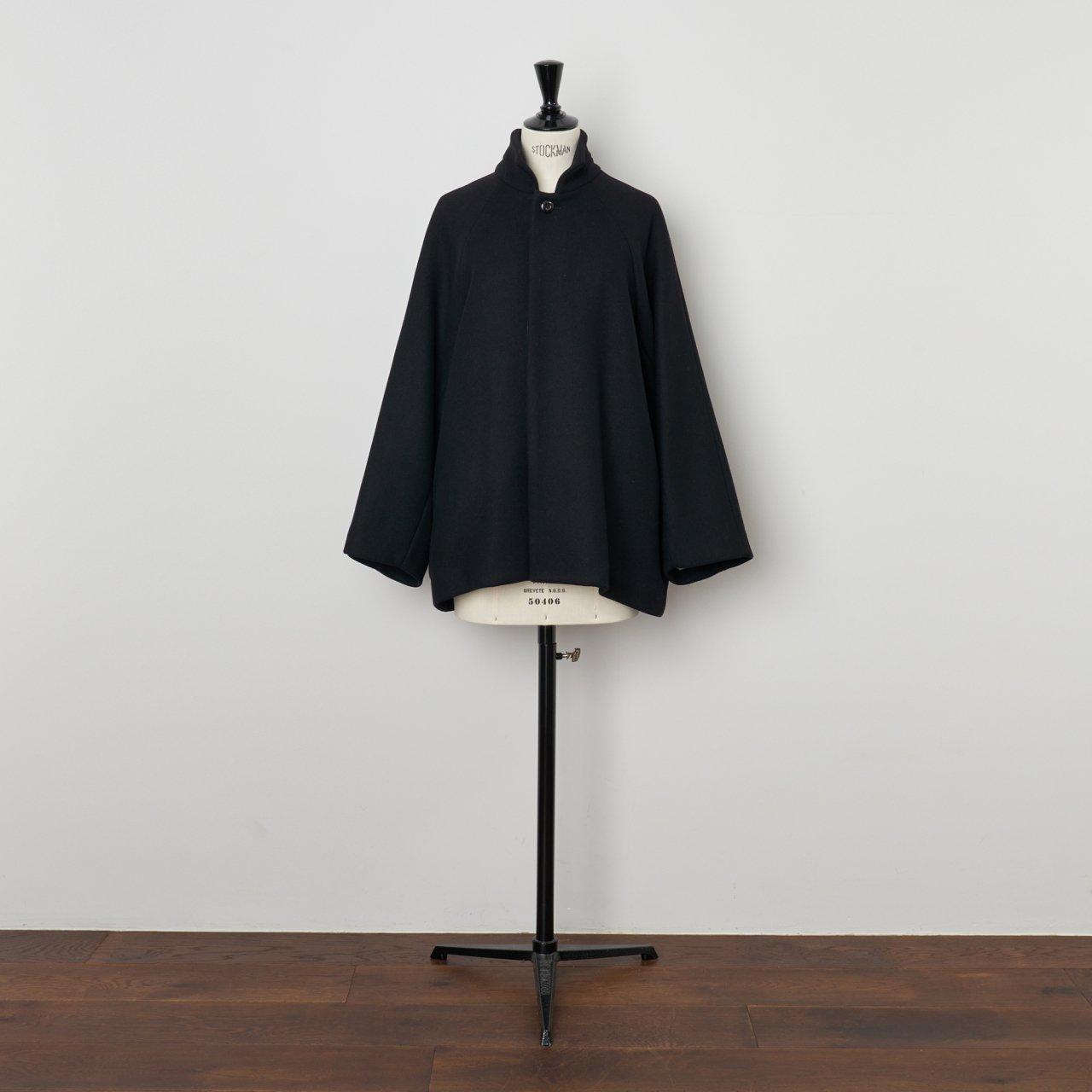 suzuki takayuki<BR>short coat<BR>black