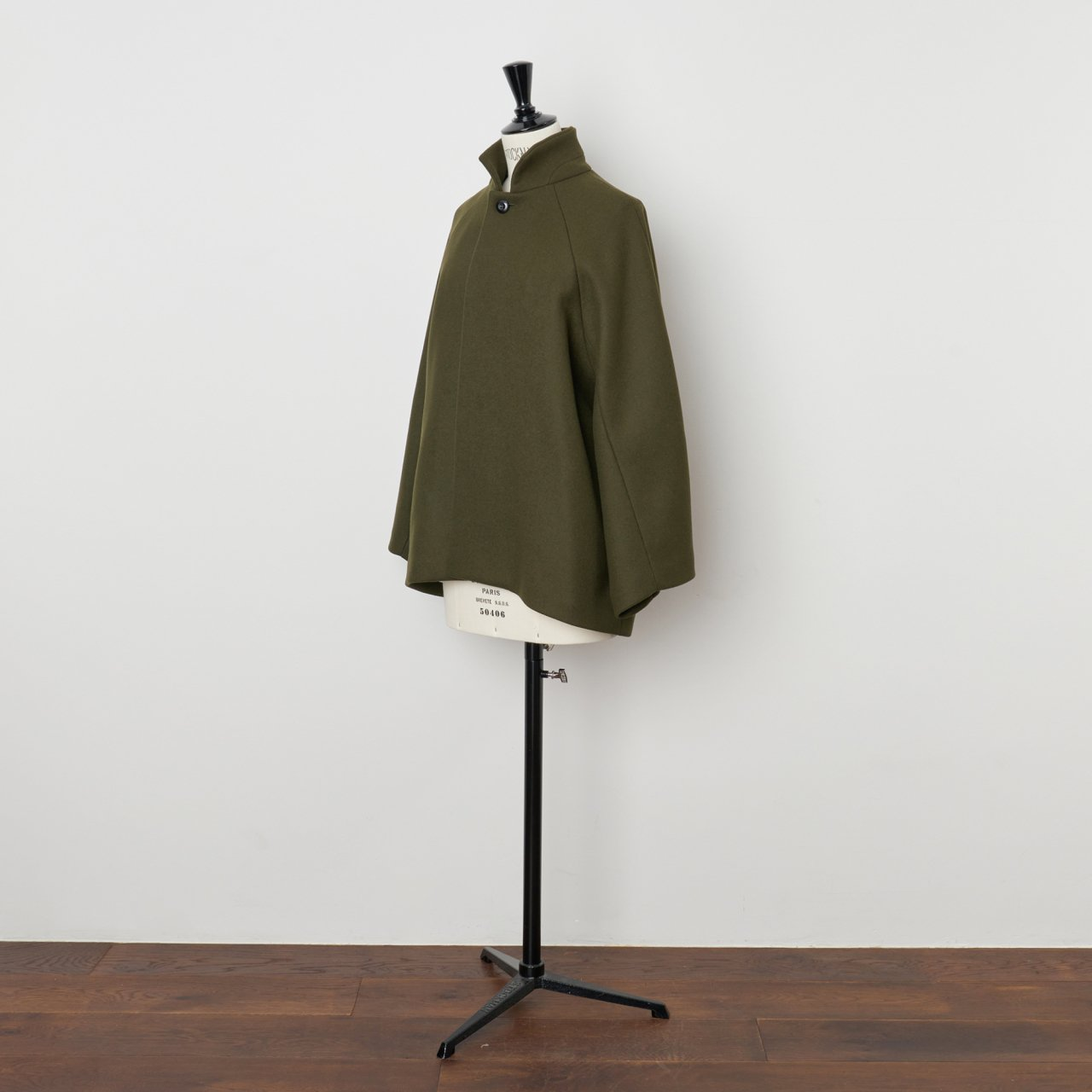 suzuki takayuki<BR>short coat<BR>khaki