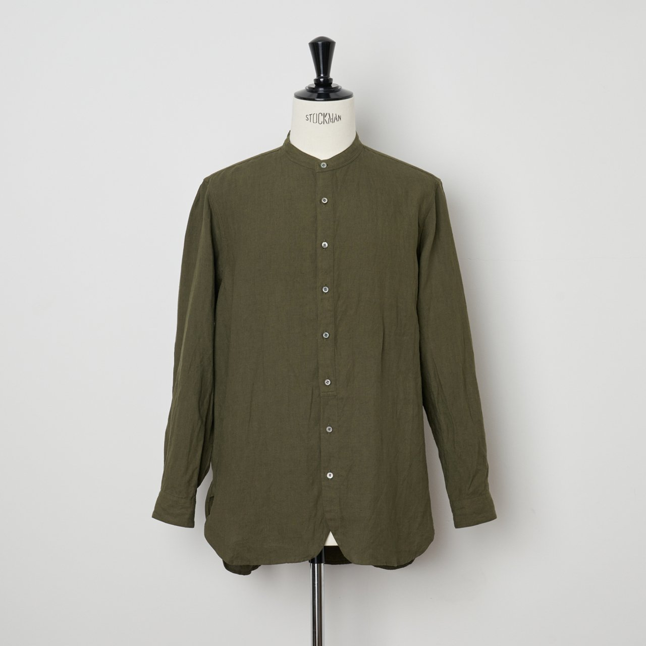 suzuki takayuki<BR>peasant shirt<BR>khaki