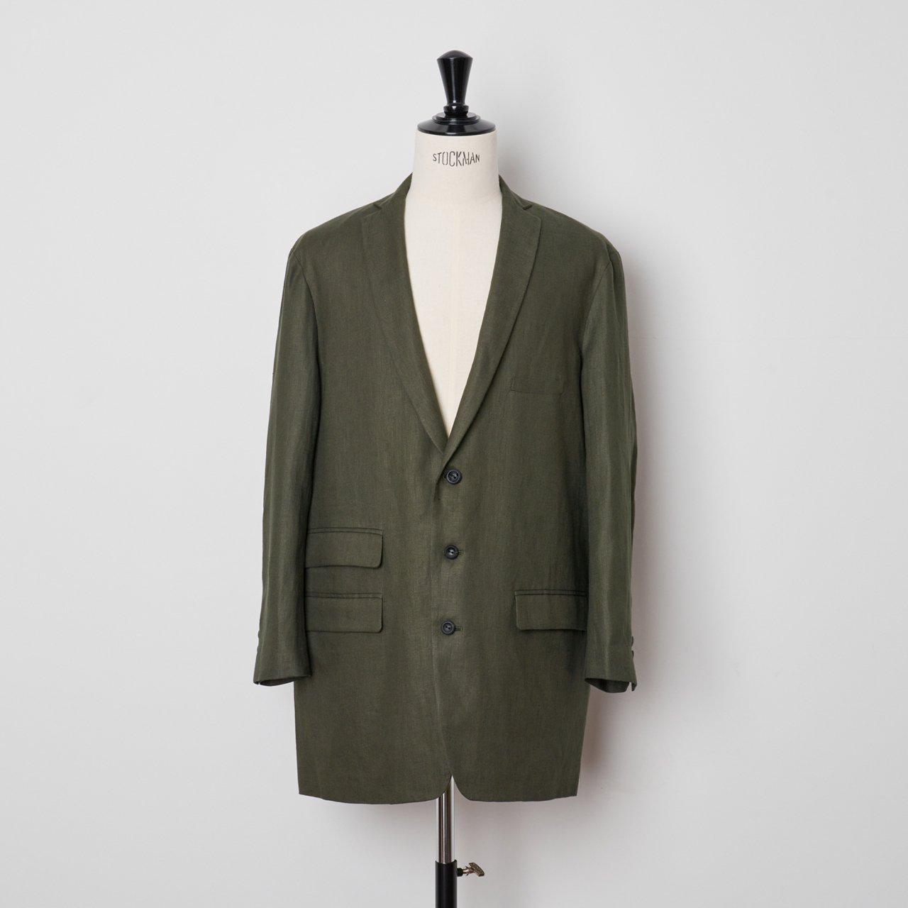 suzuki takayuki<BR>long jacket �<BR>Khaki