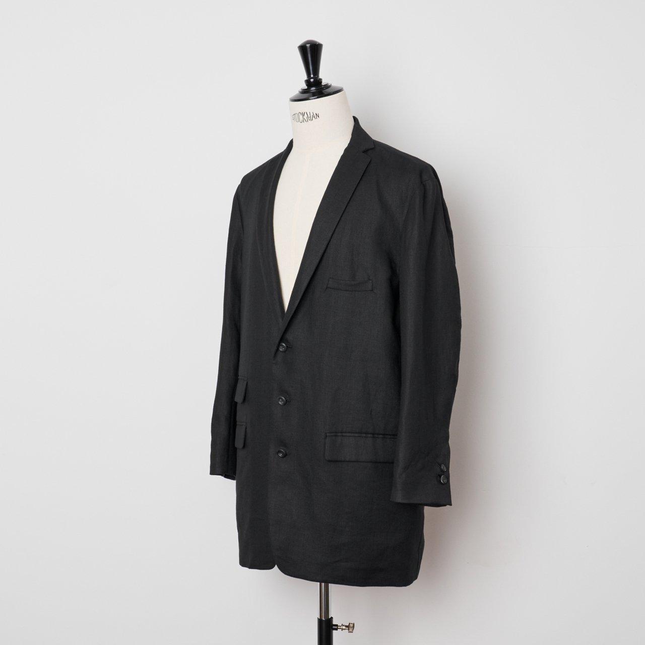 suzuki takayuki<BR>long jacket �<BR>Black