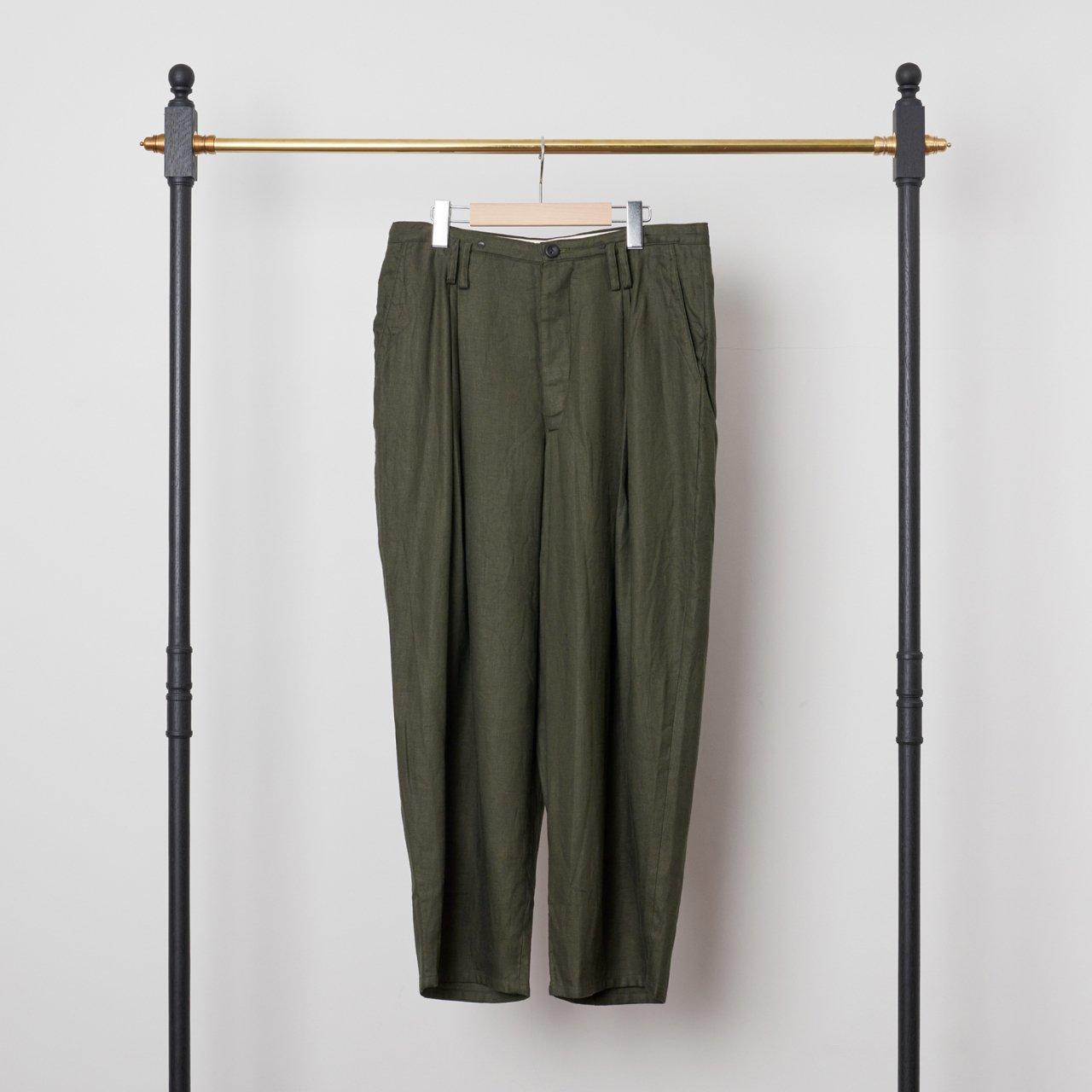 suzuki takayuki<BR>wide legged pants �<BR>Khaki