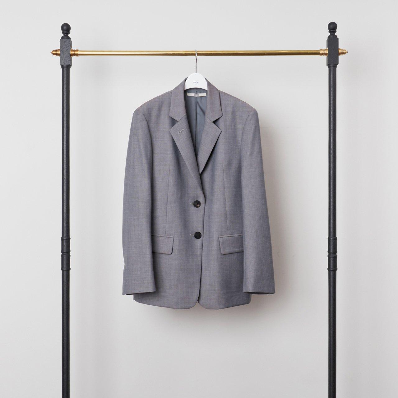 pelleq<BR>MINOVA tailored Jacket<BR>5gray