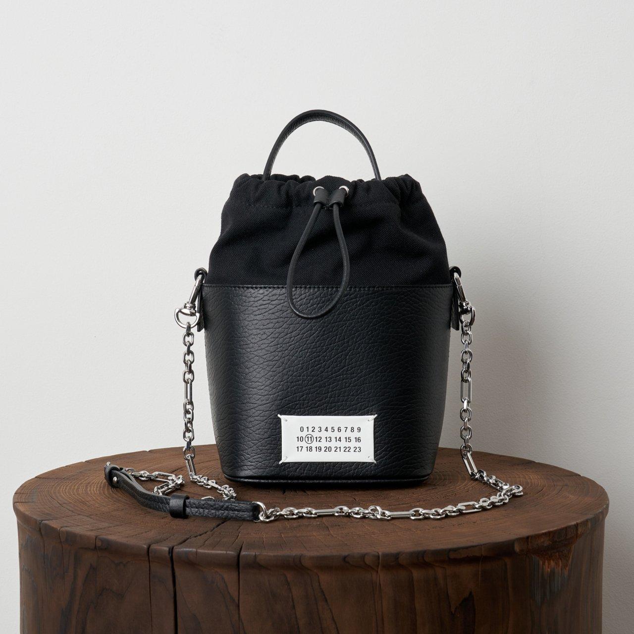 Maison Margiela PARIS <BR>5ACバケットバッグ<BR>Black