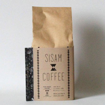 <img class='new_mark_img1' src='https://img.shop-pro.jp/img/new/icons3.gif' style='border:none;display:inline;margin:0px;padding:0px;width:auto;' />SISAM COFFEE 深煎り 豆200g