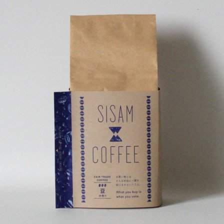 <img class='new_mark_img1' src='https://img.shop-pro.jp/img/new/icons3.gif' style='border:none;display:inline;margin:0px;padding:0px;width:auto;' />SISAM COFFEE 中煎り 豆200g