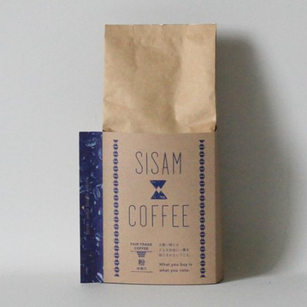 <img class='new_mark_img1' src='https://img.shop-pro.jp/img/new/icons3.gif' style='border:none;display:inline;margin:0px;padding:0px;width:auto;' />SISAM COFFEE 中煎り 粉200g