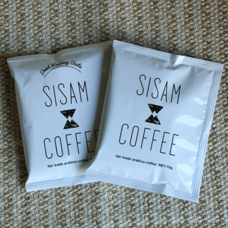 <img class='new_mark_img1' src='https://img.shop-pro.jp/img/new/icons6.gif' style='border:none;display:inline;margin:0px;padding:0px;width:auto;' />SISAM COFFEE 中煎り+深煎りDripPackセット【1回限り お試し・送料無料】