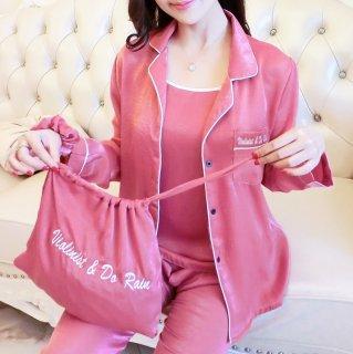 出産準備におすすめ オールシーズン使える7点セットがうれしいおしゃれパジャマ 4色