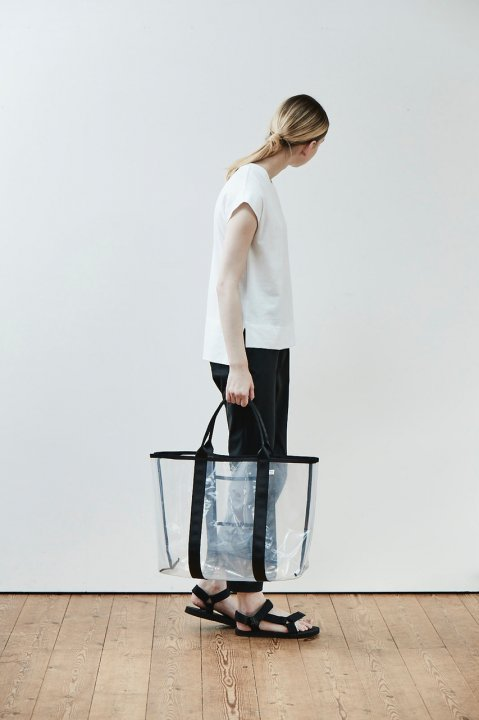 Atelier M/A Transparent Bag L