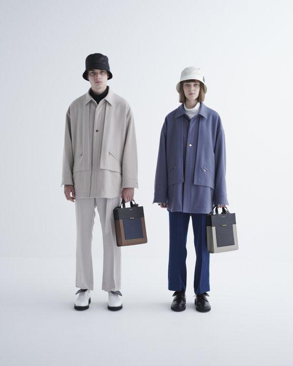 CULLNI オーバーサイズショートジャケット