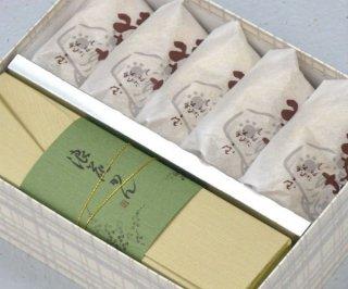 翁もなか5個 と 浪花(なにわ)かん1本入り 送料込み  季節限定品