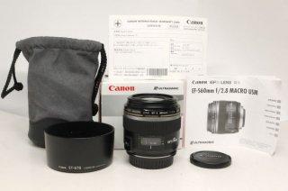 キャノン EFS 60mm F2.8マクロ