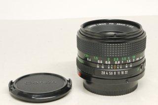 キャノン ニューFD 28mm  F2.8