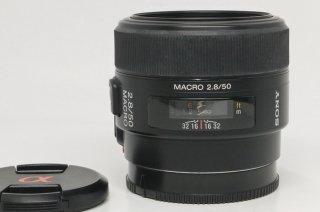 ソニーα 50mm F2.8 マクロ SAL50M28 (Aマウント)美品