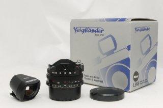 フォクトレンダー スーパーワイドへリヤー 15mm F4.5 ASPH ブラック  元箱、ファインダー付き 美品 ライカLマウント