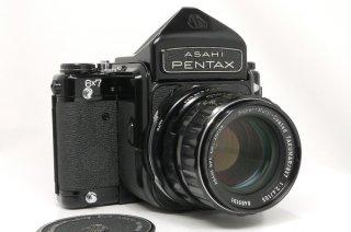 ペンタックス 6×7  105mm F2.4 ミラーアップ