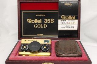 ローライ35S ゴールド 元箱、ケース付 極上美品