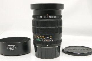 マミヤ G 150mm F4.5 L フード付 (ニューマミヤ6用) 極上美品