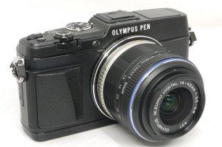 オリンパス PEN E-P5 14-42mm F3.5-5.6� MSC マイクロフォーサーズ 新品同様