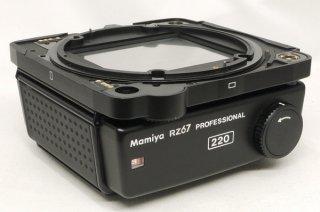 マミヤ RZ67プロフェッショナル用 220ロールフィルムホルダー 6×7 説明書付 極上美品