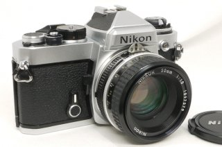 ニコン FE  Ai NIKKOR 50mm F1.8付