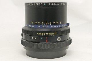 マミヤ セコール Z 50mm F4.5 (RZ用) 35mm判換算25mm相当