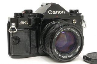 キャノン A-1 NEW FD 50mm F1.4付 オーバーホール済み 極上美品