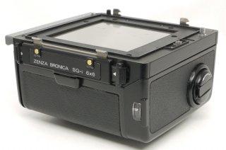 ブロニカ SQ-i用 220ロールフィルムホルダー 極上美品