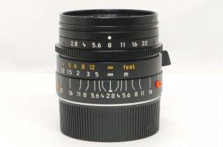 ライカ エルマリート M 28mm F2.8 E46 元箱、フード。ケース付 新品同様 (第4世代)