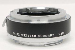 ライカR型カメラにビゾ用レンズを付けるアダプター 14167 極上美品