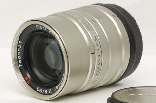 コンタックス ゾナー G 90mm F2.8 T* (G1、G2)フード付き  極上美品