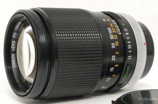キャノン FD 135mm F2.5 フード内蔵式 極上美品