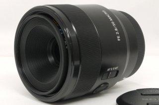ソニー FE 50mm F2.8 MACRO E-マウント 元箱、保証書付 新品同様