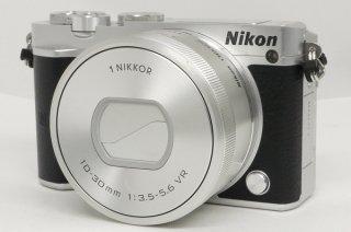 ニコン1 J5 10-30mm付 元箱一式、未記入保証書付 極上美品