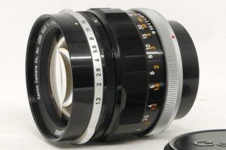 珍品 キャノン FL 58mm F1.2 極上美品
